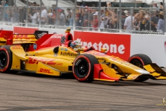 Ryan-Hunter-Reay-St.-Pete-GP-Indy-Race-Turn-2