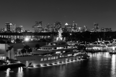 Downtown-FLL-with-Yacht-BW